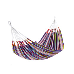 hammock cotton acrylic blue